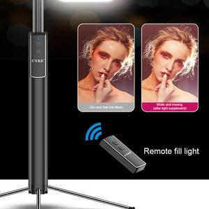 Image 4 - Handheld Hidden Bluetooth Tripod 3 in 1 Selfie Stick w/ Beauty light Extendable Selfie timer Fill Light for iPhone Samsung Phone