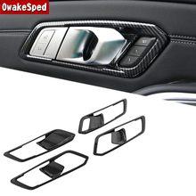 Автомобильный Стайлинг наклейки на дверь отделка Блестки для BMW 3 серии G20 2018-2020 LHD автомобильные модифицированные аксессуары для интерьера