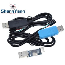 PL2303 PL2303HX/PL2303TA USB RS232 TTL dönüştürücü adaptör modülü ile toz geçirmez kapak PL2303HX için arduino indir kablo