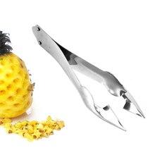 1 шт. резак для ананасов из нержавеющей стали инструмент для легкого удаления шелухи для использования ананаса корер клип салат инструменты для фруктов Прямая поставка