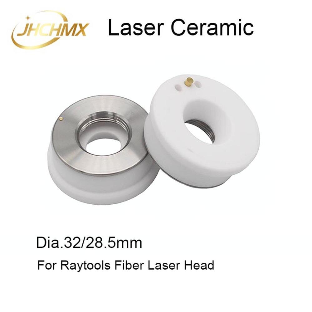 JHCHMX Raytools Ceramic Nozzles Holder Dia.32mm For Raytools AK270/BT230/BT240 Laser Head Bodor Glorystar Fiber Laser Machines