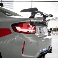 Use for BMW 2 Series F22 coupe M2 F87 spoiler 2013 2019 year real glossy carbon fiber rear wing MP style Accessories body kit