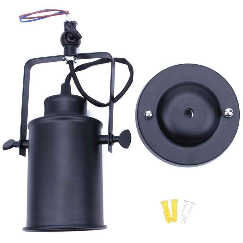 レトロ壁燭台ライトヴィンテージ工業ロフト素朴な壁灯ポーチ灯