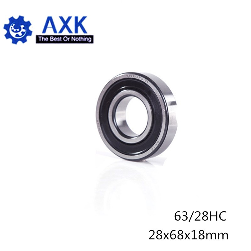 63/28 Hybrid Ceramic Bearing 28*68*18 mm ( 1PC ) Race Bike Front Rear Wheel 63 28 2RS LUU Hybrids Si3N4 Ball Bearings 63/28RS
