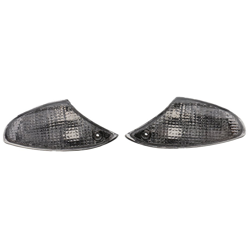 H HILABEE Turning Signals Light Lens Cover For BMW K1200S K1300S Smoke Plastic