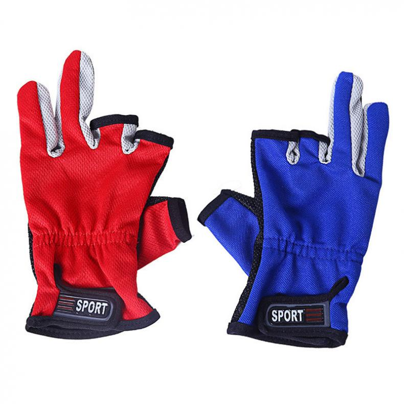 New Arrival Anti Slip Fishing Gloves Slip-resistant Fishing Gloves Outdoor Sports Fishing Tackle Boxes image