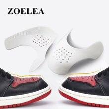 Protetores da sapatilha da força aérea protetores da sapatilha anti-enrugamento dobra sapatos de apoio toe boné prático protetor dropshipping