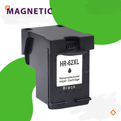 Czarny magnetyczny kompatybilny wkład z atramentem dla HP62 62 dla HP Envy 5640 5660 7640 5540 5544 5545 Officejet 5740 5741 5742 drukarki