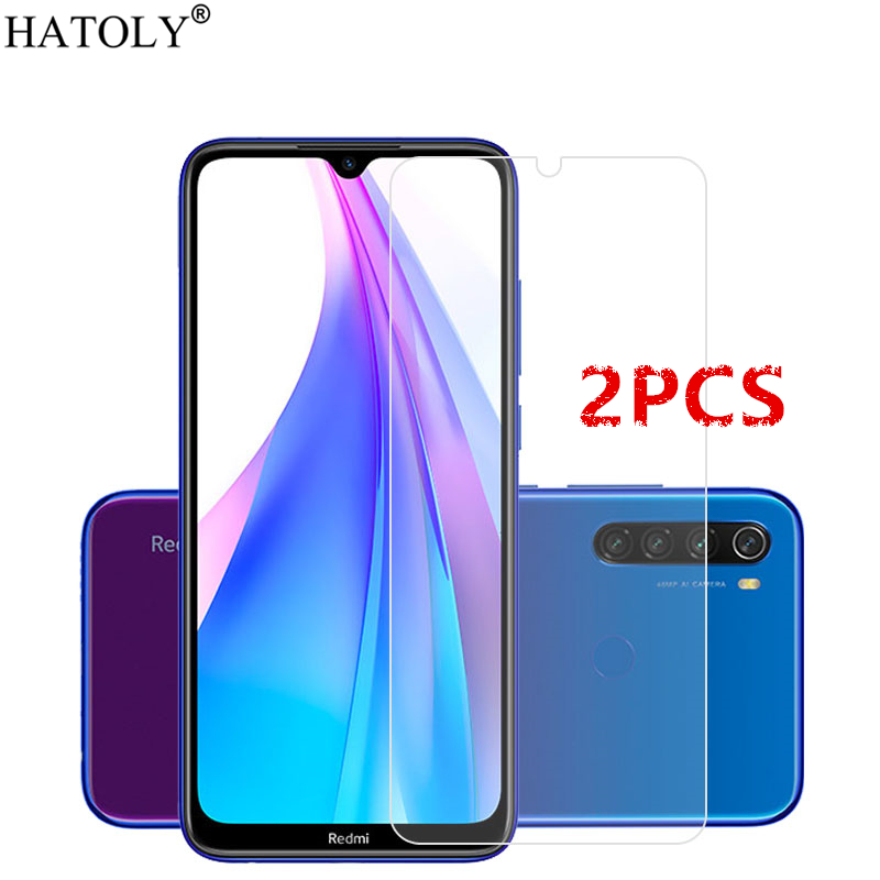 2Pcs For Xiaomi Redmi Note 8T Glass For Xiaomi Redmi Note 8 T Tempered Glass Screen Protector Protective Glass For Redmi Note 8T