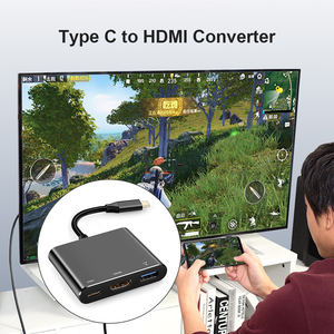Image 4 - Type C Adapter Type C to USB 3.0 HDTV Converter PD Fast Charge Audio Video Converter Cable for Game Controller Laptop Phone