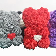 Rose bear Valentine's Day Festive & Party Supplies gird gift
