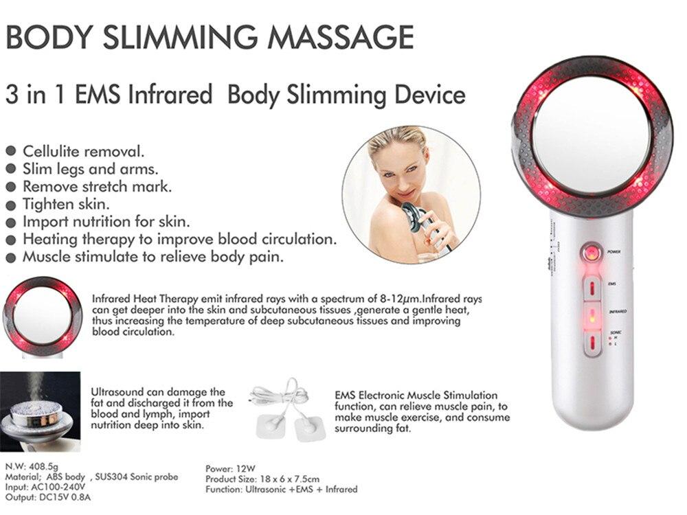 Appareil de massage Ultrasons anti cellulite brûle graisses