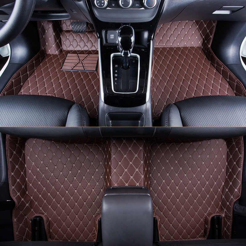 WLMWL Car Floor Mats For Geely all models Emgrand EC7 X7 FE1 car accessorie styling auto Cushion Car Carpet Covers floor mats