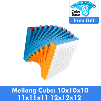 Cubing Classroom Magic cubo puzzle MoYu Meilong 10x10x10 11x11x11 12x12x12 Speed 10x10 Professional Educational Toys - discount item  21% OFF Games And Puzzles