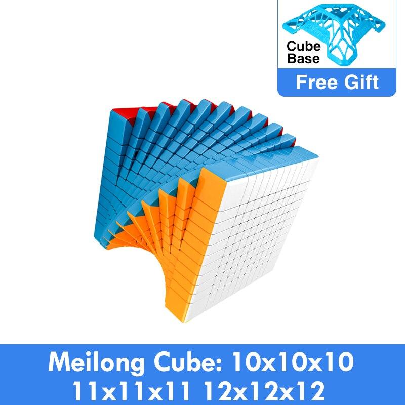 Cubing Classroom Magic cubo puzzle MoYu Meilong 10x10x10 11x11x11 12x12x12 Speed Cube 11x11 10x10 Professional Educational Toys