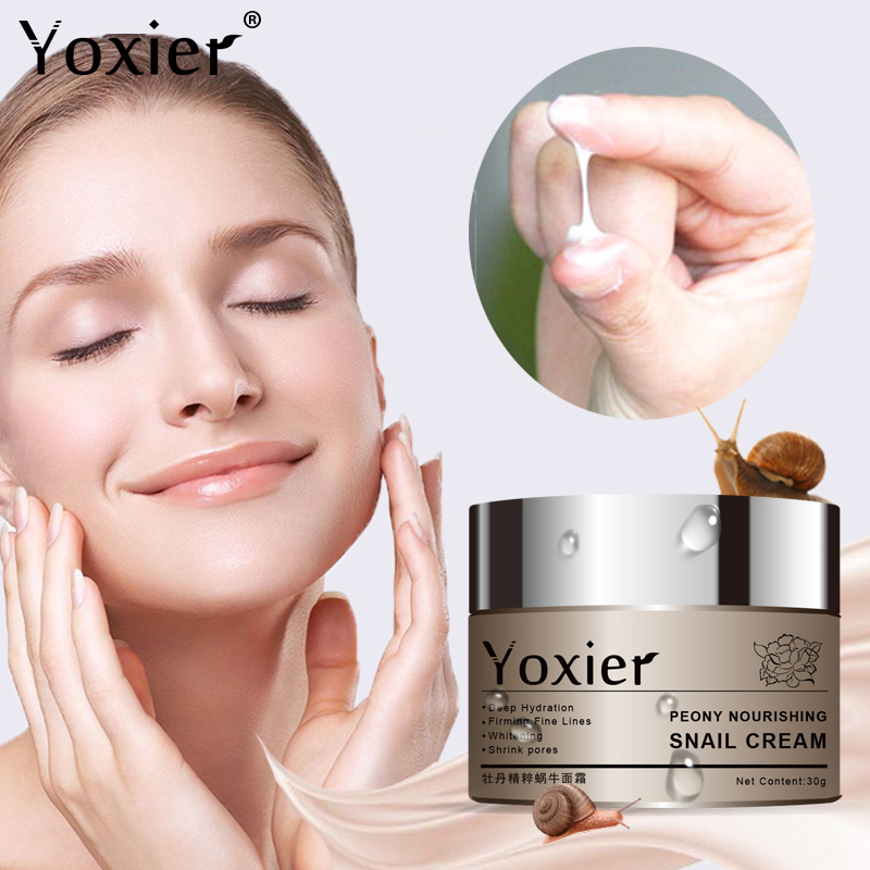 Day Creams Moisturizers Korean Cosmetics Secret Skin Care Snail Cream Hyaluronic Acid Essence Cream For Face Anti Aging Wrinkle