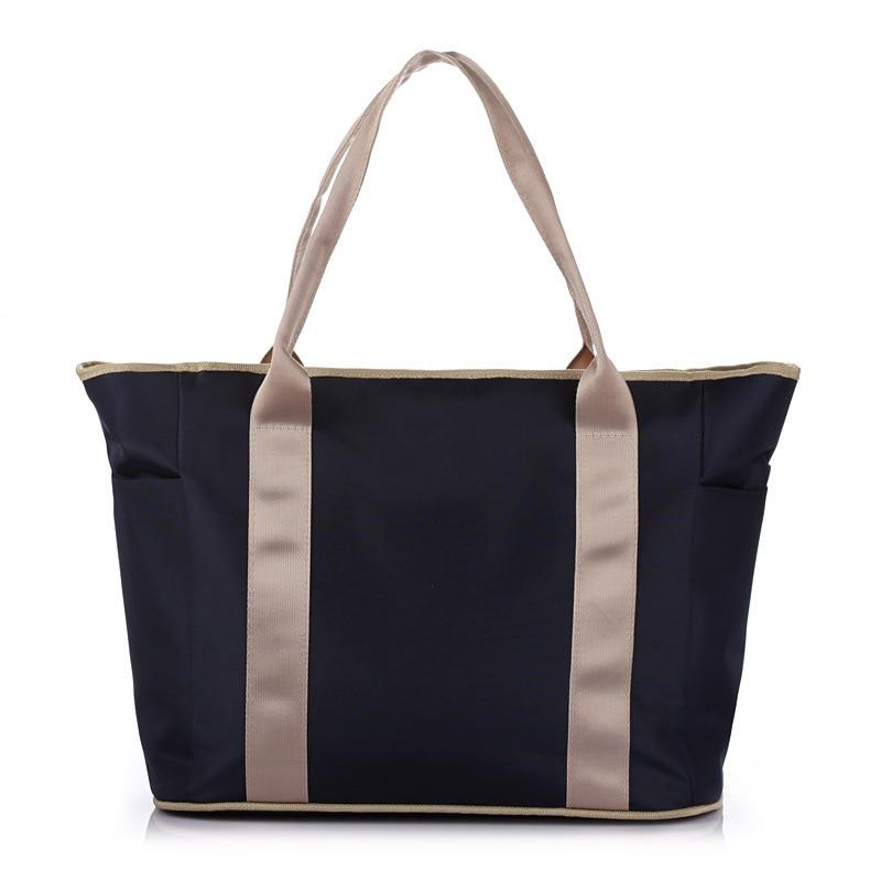 Casual Fashion Diaper Bag Multi-functional Large-Volume Mommy Bag Shoulder Bag/ Hand Bag Oblique Diaper Bag WOMEN'S Bag