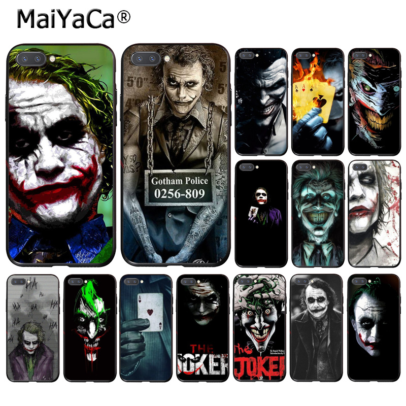 MaiYaCa poker joker Phone <font><b>Case</b></font> for <font><b>Huawei</b></font> <font><b>Honor</b></font> 8X 9 10 20 Lite 7A 8A 5A 7C 10i <font><b>20i</b></font> View20 image