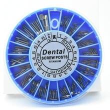 Pós parafuso de Titânio Dental NITI PINOS ferramenta de odontologia materiais 120pcs dental para o dentista