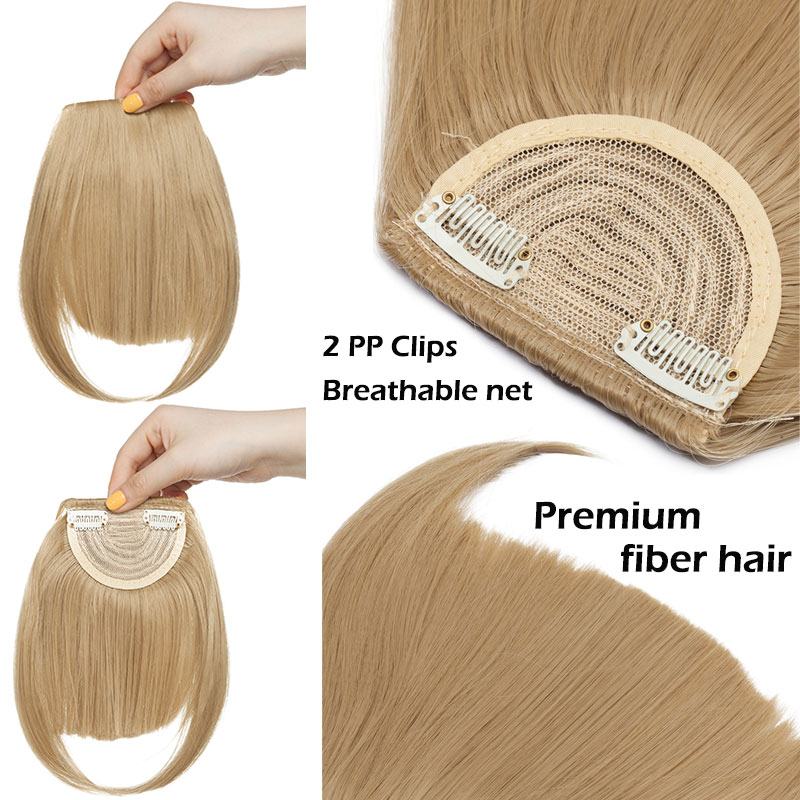 Silky Flow Clip-on Seamless Bang
