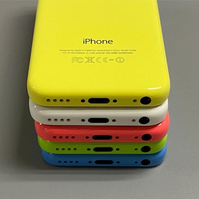 Used iPhone 5c Original Unlocked Apple iPhone 5C IOS GPS WIFI Dual Core 4.0'' Display 8GB/16GB/32GB iphone5c Cellphone Free Gift 6