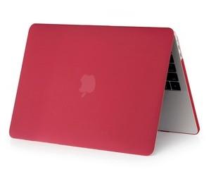 Cristal  fosco caso duro para apple macbook ar pro retina 11 12 13 15 16 polegada, caso para 2020 novo pro13 a2251 a2289 a2179