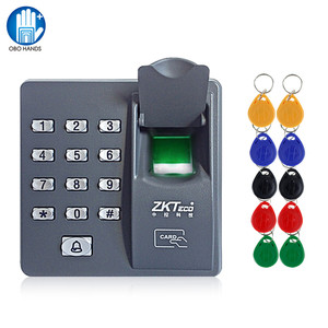 Image 1 - Система считывания отпечатков пальцев, биометрическая клавиатура контроля доступа RFID с клавиатурой и паролем + 10 брелоков