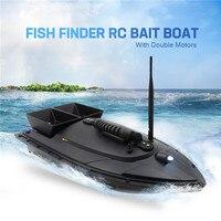 Flytec 2011 5 / V007 / V500 Electric Fishing Bait RC Boat 500M Remote Fish Finder 5.4km/h Double Motor Toys Kit / RTR Version