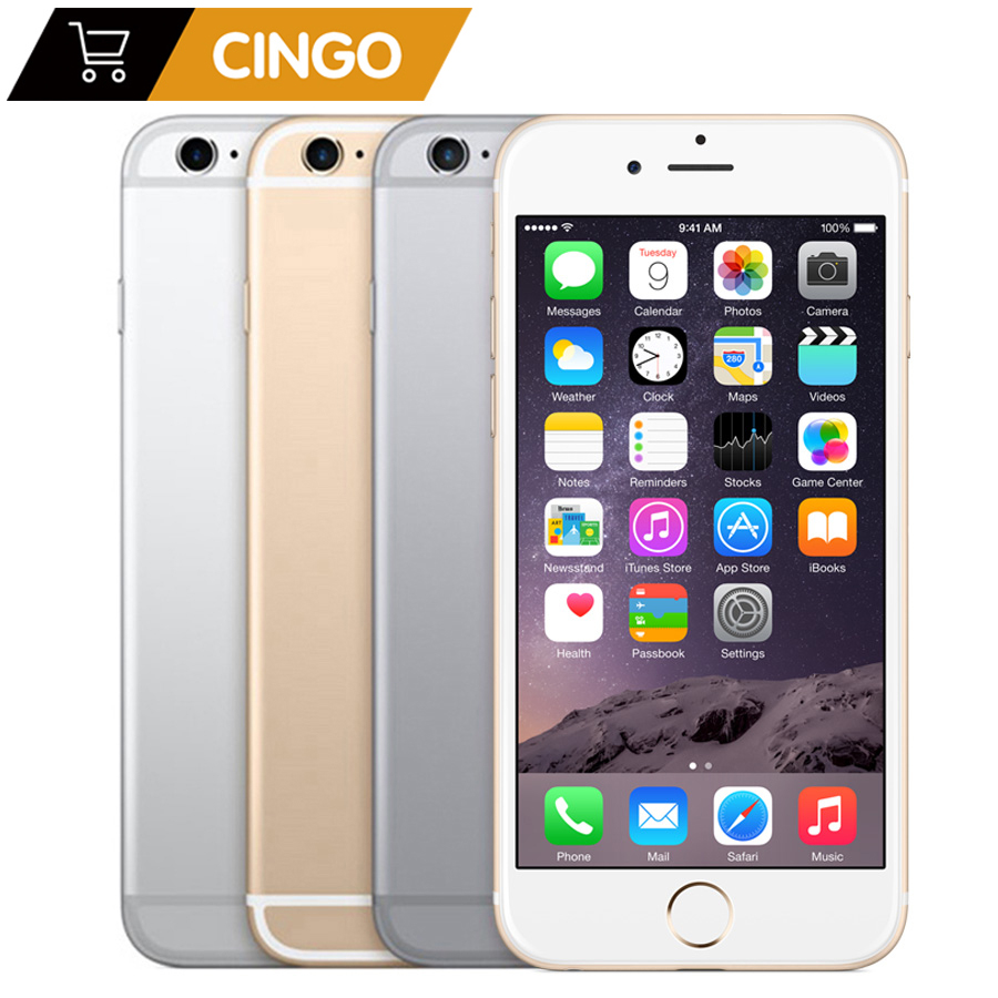 Unlocked Apple iPhone 6s Dual Core 4.7'' 2GB RAM 16/<font><b>64GB</b></font> ROM 4G LTE Mobile phone 4K Video iOS 9 12.0MP IOS 9 <font><b>Smartphone</b></font> Rated image
