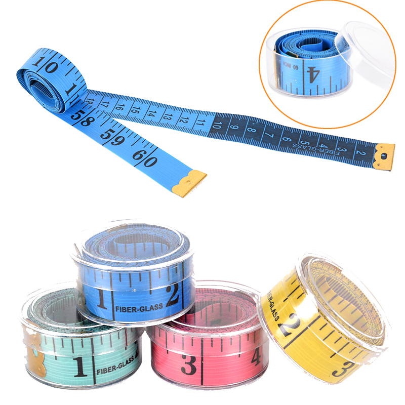 60 inch Body Measuring Tape Ruler Sewing Cloth Tailor Measure Soft Flat Simple