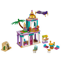2020 New 25022 Aladdin and Jasmine's Palace Adventures Compatible lepining Disneyoph Friends 41161 Building Blocks Toys Gifts Blocks     -