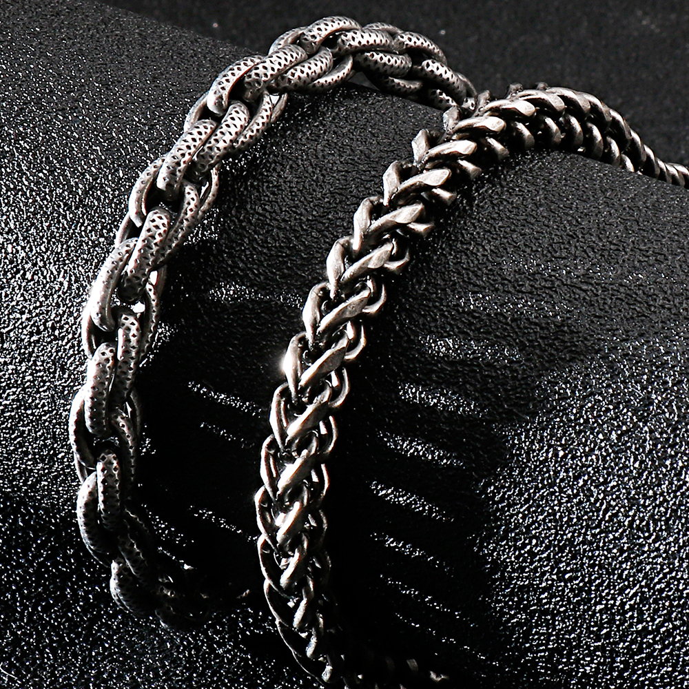 316l Stainless Steel Chain Link Man