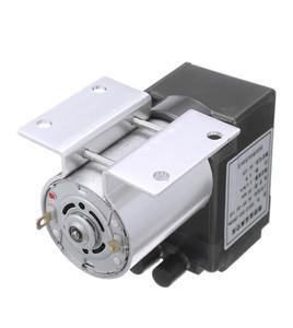 Image 5 - Mini bomba de aire de vacío eléctrica, bomba de diafragma de succión de alta presión, 5l/min, 80kPa, CC, 12V, con soporte para la industria química, 1 ud.