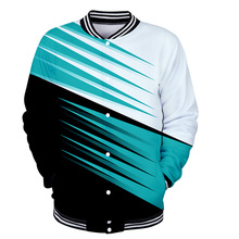 Tracksuit WAMNI Baseball-Jacket New Men Uniform Streetwear Funny 3D College-Style Casual