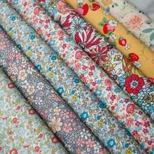 140x50cm Pastoral Floral liso tela de algodón bricolaje ropa para niños hacer Ropa Decoración hogar Alibaba Express 150 g/m