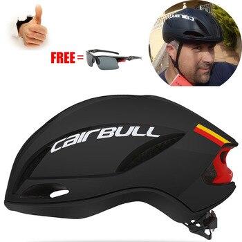 Cairbull SPEED Casco de Ciclismo aerodinámico ultraligero, Casco de neumático de bicicleta...