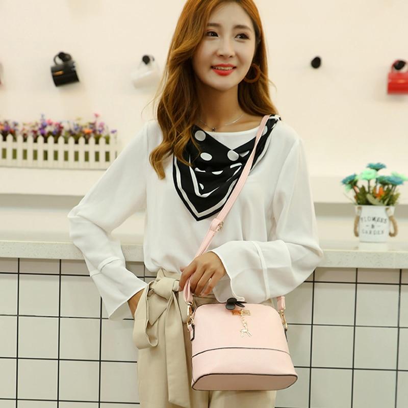 Driga HOT SALE!2020 Women Messenger Bags Fashion Mini Bag With Deer Toy Shell Shape Bag Women Shoulder Bags Handbag 6