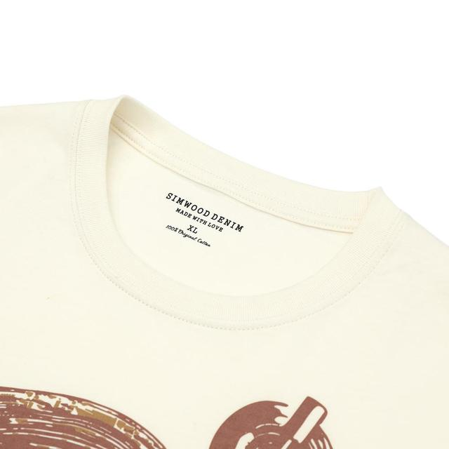 Summer T-Shirt with music sound print