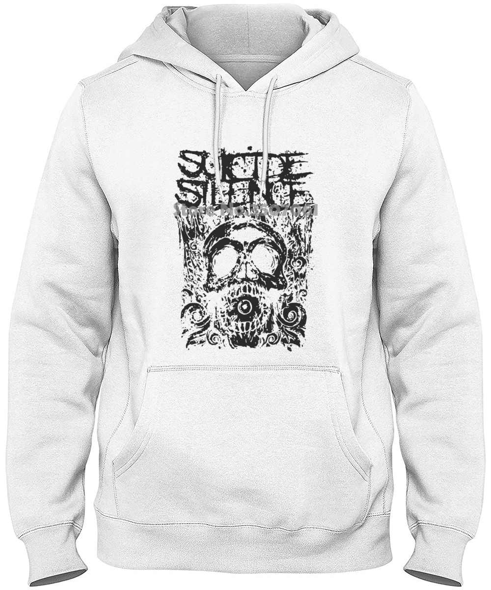 Suicide SILENCE Cyclopes Deathcore Mitch Lucker Animosity Neuf Blanc 188 Hoodies & Sweatshirts