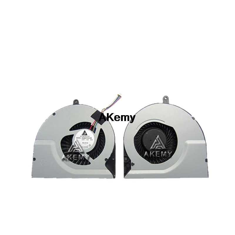 Akemy الأصلي وحدة المعالجة المركزية مروحة تبريد ل ASUS N56DP N56DY N56V N56VZ N56VM N56VJ N56VV N56VB N56JR N56JN N56JK دفتر مبرد كمبيوتر محمول