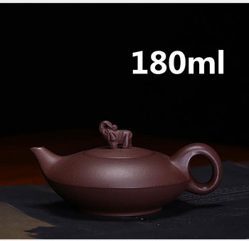 Theepot Yixing Zisha Klei Chinese Porselein Theepotten Thee pot Keramische 180ml Nieuwe Aangekomen Hoge Kwaliteit Met Gift Box