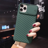 soft tpu Silicone Camera Protection Shockproof Case For iPhone 11 Pro X XR XS Max 7 8 Plus Solid Color Soft TPU Back Cover (2)