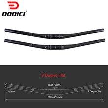 Carbon-Handlebar Flat RXL Ultralight Mountain MTB UD 9-Degree Matte Glossy