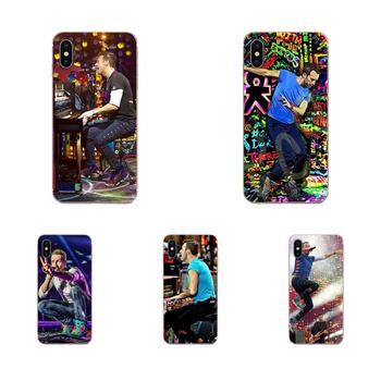 Chris Martin Coldplay Piano Viva La Live Soft Coque Case For Samsung Galaxy A51 A71 A81 A90 5G A91 A01 S11 S11E S20 Plus Ultra image