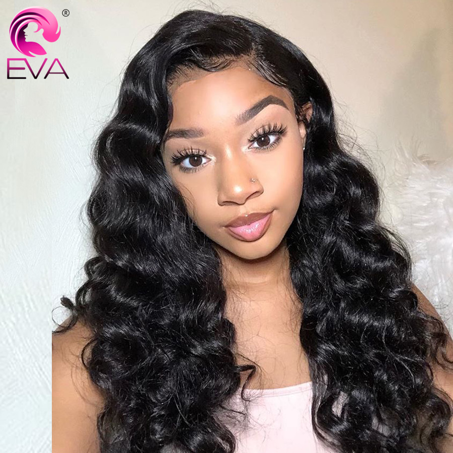 Eva Hair Lace Front Human Hair Wigs For Black Women Brazilian 13x4 Body Wave Lace Front Wig Pre Plucked With Baby Hair Remy Hair