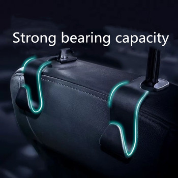 2x Creative Car Seat Truck Coat Back Hooks for Volvo Xc60 S60 s40 S80 V40 V60 v70 v50 850 c30 XC90 s90 v90 xc70 s70 Accessories