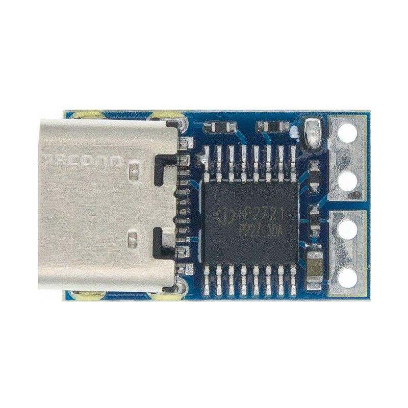 Type-C PD модуль декорации PD2.0 PD3.0 к DC триггер удлинитель QC4 зарядное устройство 9 в 12 В 15 в 20 в быстрое зарядное устройство монтажная плата