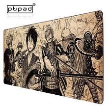 Купить с кэшбэком pbpad 90*40cm one piece mouse pad gaming mouse pad large cartoon Anime rubber mouse pad Keyboard Mat Table Mat For Dota 2 CS Go