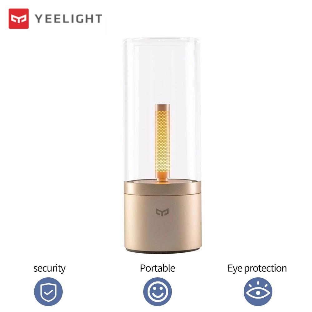 Yeelight Candela Candlelight Smart Light Table Lamp Vintage Decor LED Night Light Adjustable Reading Moon Lamp WIFI App