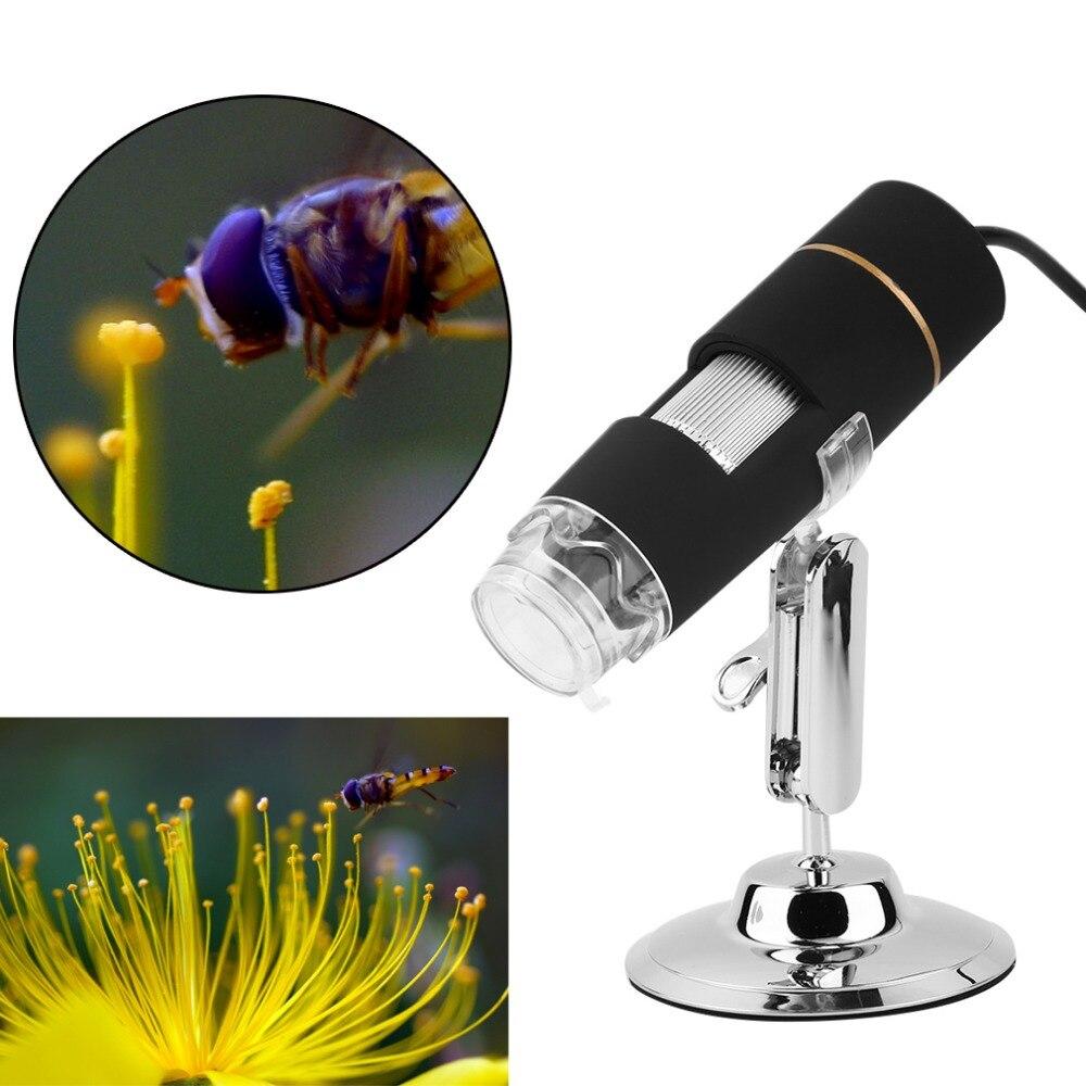 Digital 50-500X 2MP USB 3.0 8LED Microscope Endoscope Video Camera Magnifier